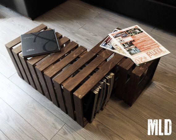 LE CUBOT: tavolino componibile in 3 elementi di MakeLiveDesign