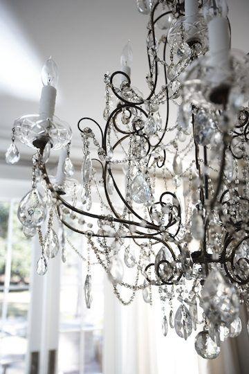Crystal chandelier - lovely