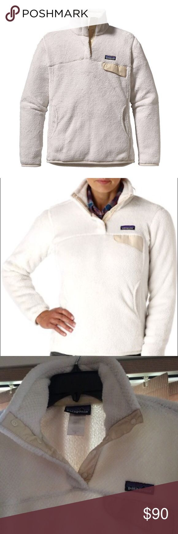 Patagonia Women's Re-Tool Snap-T® Fleece Pullover Size Medium Patagonia Sweaters