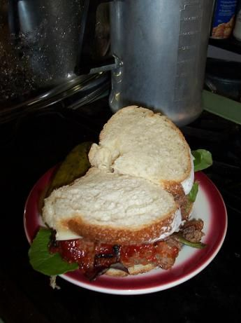Diane Sawyer's Famous Meatloaf Sandwich...excellent!  This is the best meatloaf EVER!