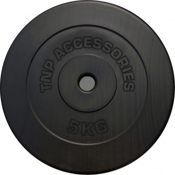www.elitesupplements.co.uk fitness-accessories-171 tnp-accessories-1-hole-vinly-weight-plates-discs-home-gym-training-black-5kg