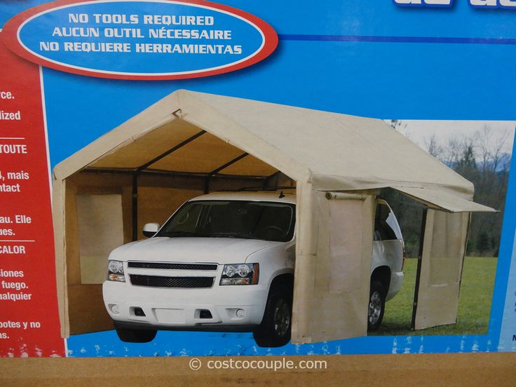 Steel Frame Canopy With Side Walls Costco Canopy tent