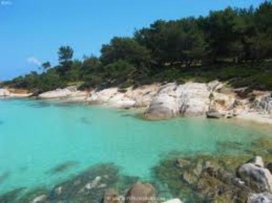 Kavourotrypes (Orange Beach) Sarti, Greece