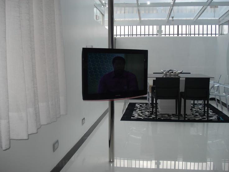 suporte cano tv
