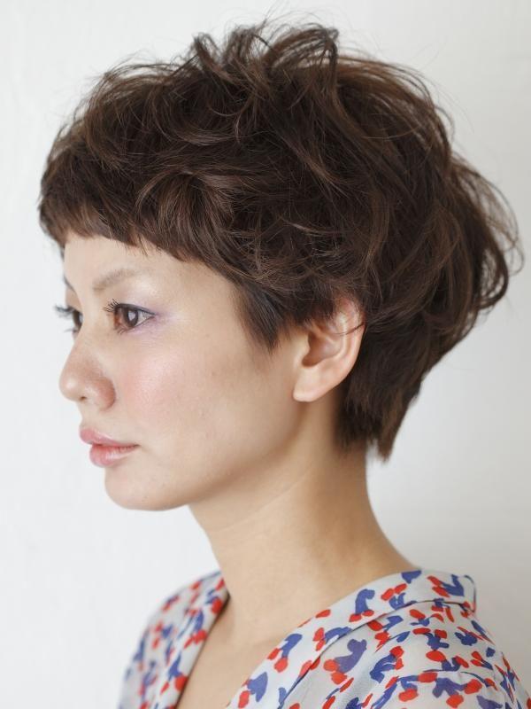 外国の子供みたいで可愛い♡ショートヘア+パーマで作る無造作ヘアの23枚目の写真