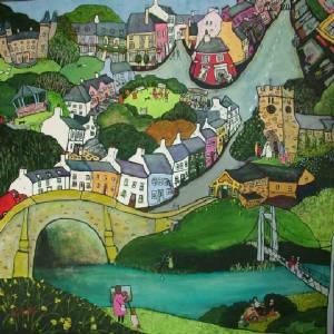 Helen Elliott, Llandeilo town