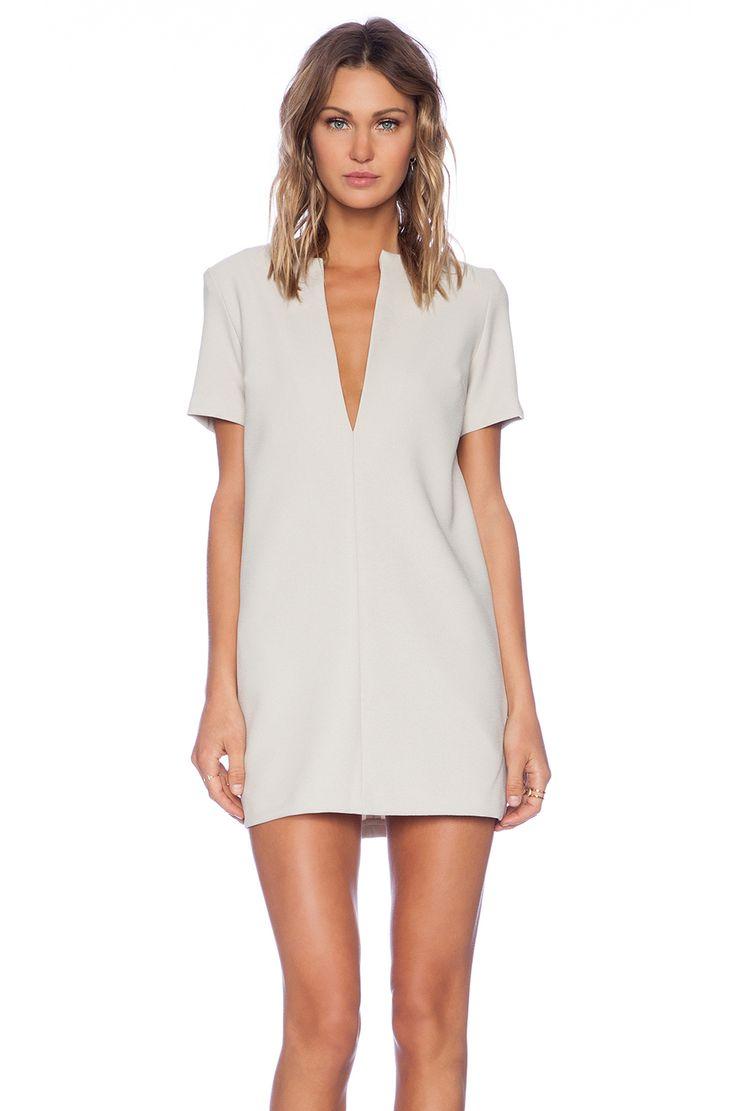 VIVIAN CHAN Annie Dress in Beige   REVOLVE $217