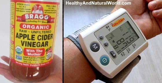 Here's what happens to your blood pressure when consuming only 1 tablespoon of ACV (Apple Cider Vinegar)