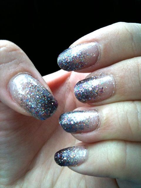 38 Best Glitter Gradient Nails Images On Pinterest