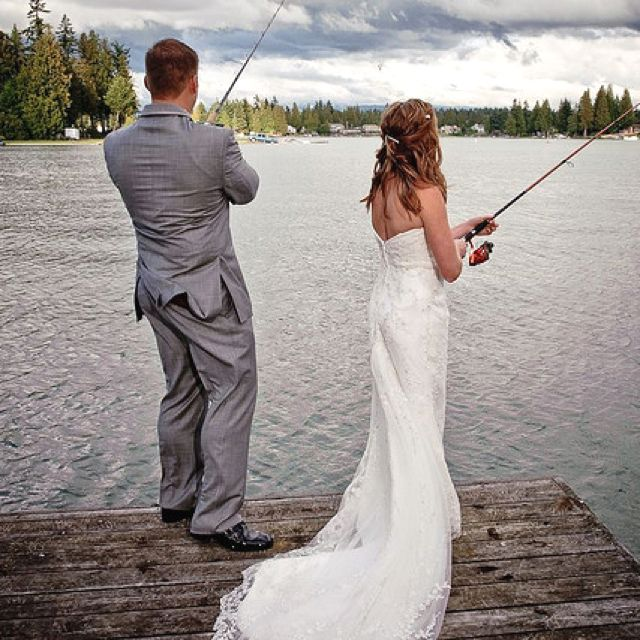 "@Eryn Paul Sargent!!! I was browsing on 'Everything' and this picture came up!! HOW WEIRD!! And the lady who repinned it said this: ""This is such a cute wedding photo a must have!!!"". Small world :)"