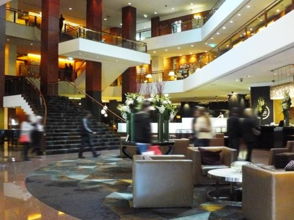 The reception area in Sydney's Four Seasons. Giulians Fine Jewellery is located on level 3.