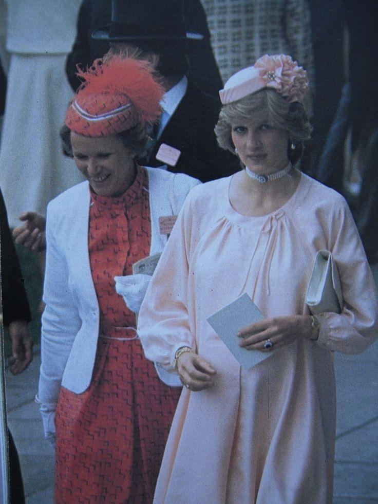 Princess Diana Pink Maternity Dress