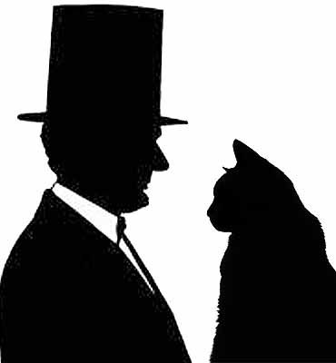 Abraham Lincoln's cats included Tabby and Dixie. The president also brought a few strays into the White House.