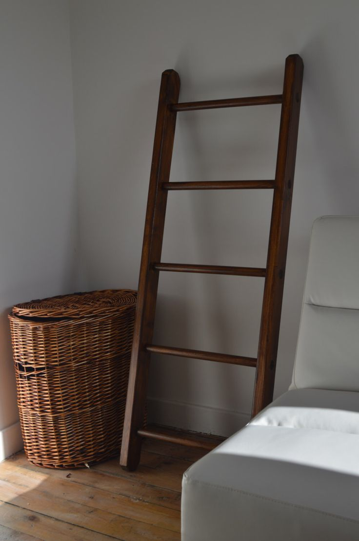 Small Multi Purpose, Home Decorative Wooden Ladder. VINTAGE.Handmade by PobiShop on Etsy https://www.etsy.com/uk/listing/178400090/small-multi-purpose-home-decorative