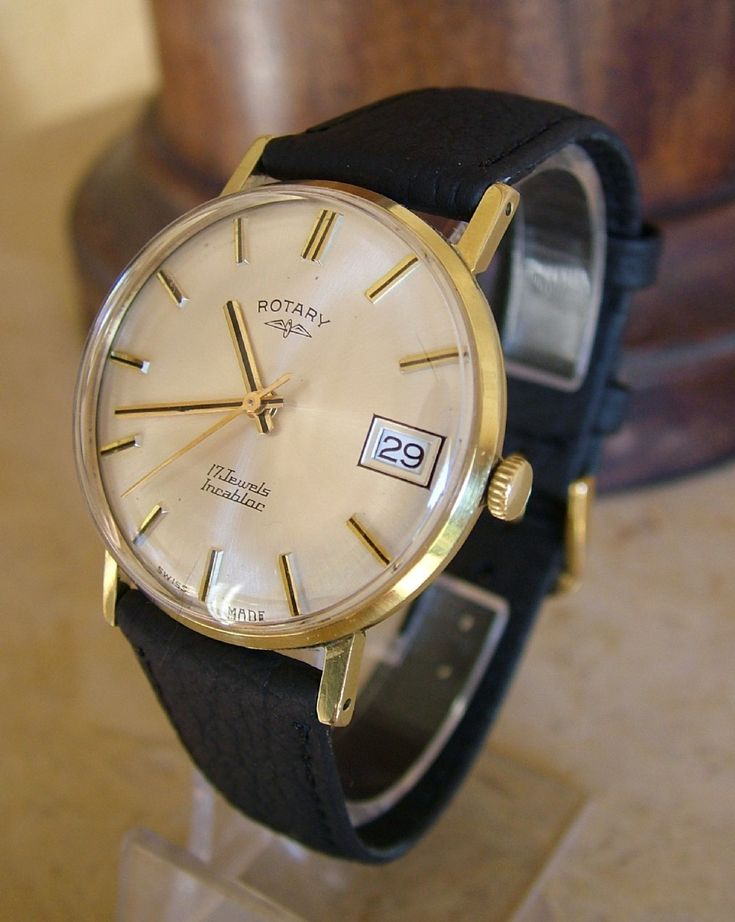 Vintage Gents 1960s Rotary Hand Winding Watch | 320265 ...