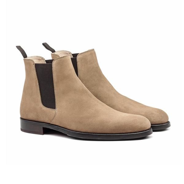 THE TAN YORK CHELSEA BOOTS - ORO Los Angeles - 1