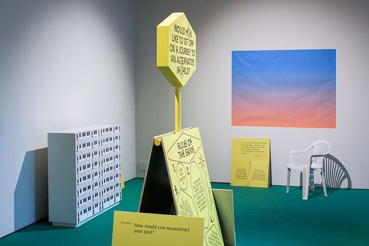 Photo of the Cadavre Exquis: An Anatomy of Utopia exhibition at the London Design Biennale, Somerset House in London, 2016, photo: Jędrzej Sokołowski