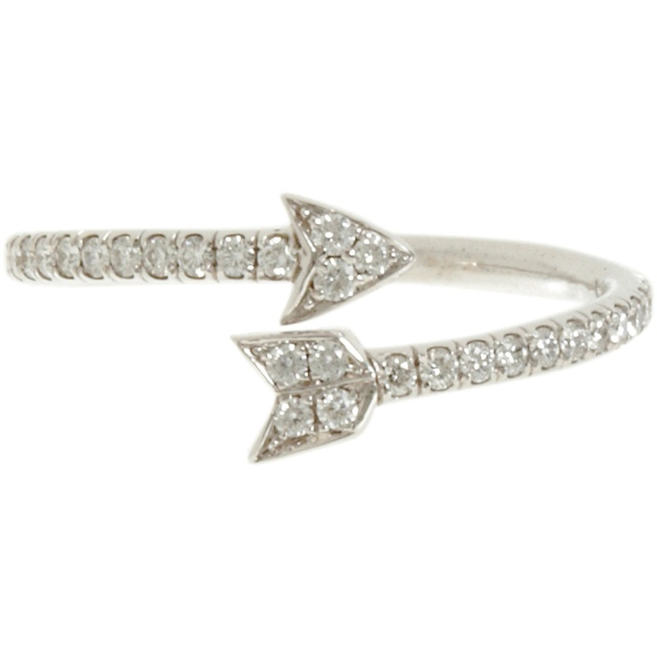 Finn Diamond Arrow Ring at Barneys.com