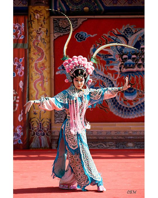 Chinese Opera in Hong Kong by Cliff MacArthur Christmas