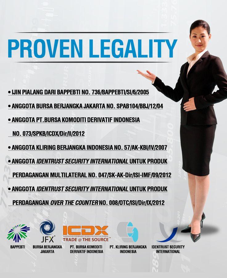 Legalitas perusahaan ? Tidak perlu diragukan lagi. Cek website kami untuk info lebih lanjut atau coba demonya di http://demoreg.imfutures.com/index.php?idmkt=20120086