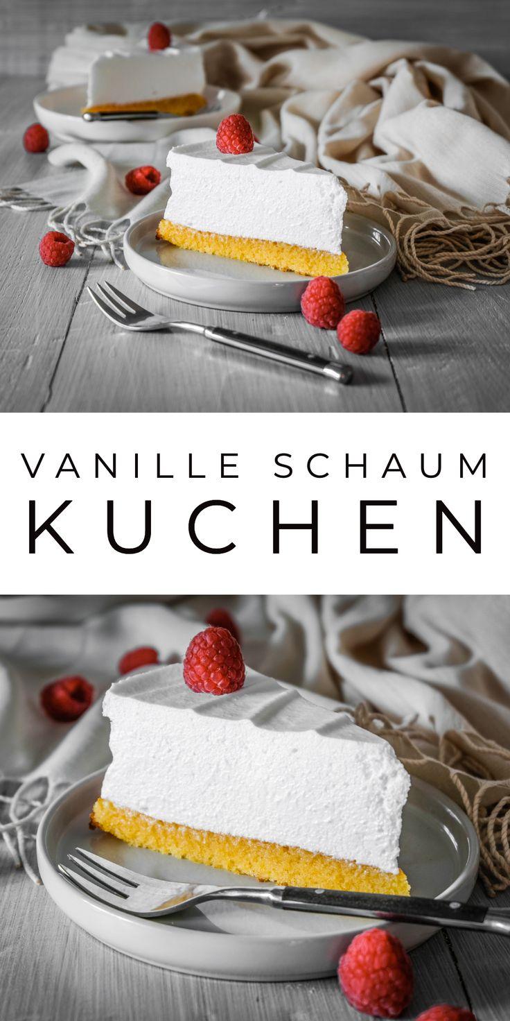 Vanille Schaum Kuchen (Sampita)