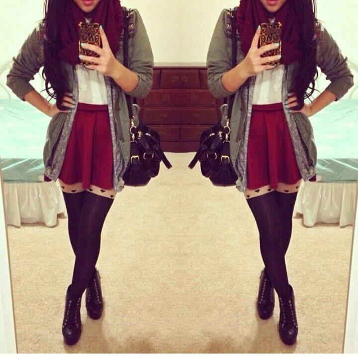 98 Best Cute Outfit With Skirts Images On Pinterest