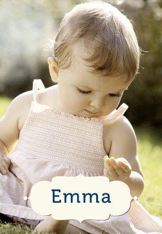 Von A wie Amélie bis Z wie Zoe: 155 weibliche Vornamen