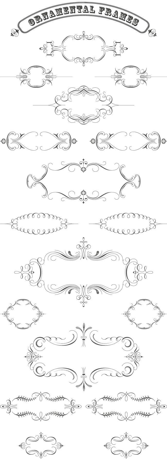 Ornamental Frames N°2