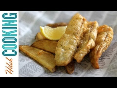 How To Make Fish and Chips | Hilah Cooking - YouTube