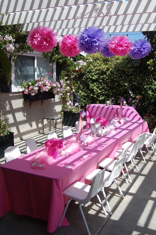 Fancy Nancy Table 3 Fluffy Decorations Party City