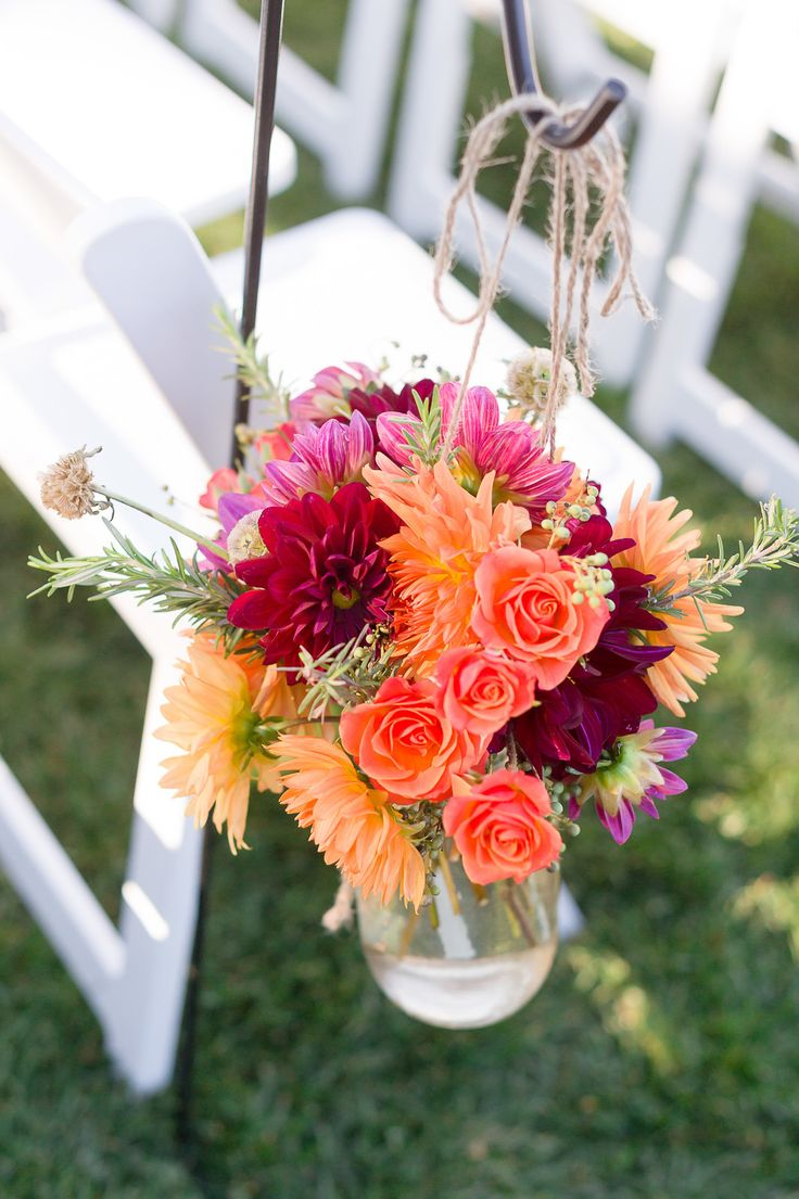 Rustic Fall Wedding at Thomas Fogarty Winery