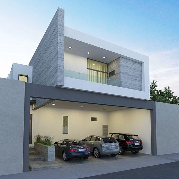 42 Fachadas De Casas Modernas Bonitas Elegantes Emarq Net En 2020 Casas Casas Modernas Casas Bonitas Modernas