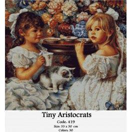 Gobelin Kit - Tiny Aristrocrats