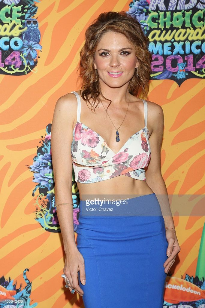 Zoraida Gómez attends the Nickelodeon Kids' Choice Awards Mexico 2014 at Pepsi Center WTC on September 20, 2014 in Mexico City, Mexico.