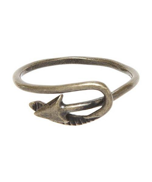 MARC JACOBS マークジェイコブス Arrow Ring リング 指輪 BRONZE