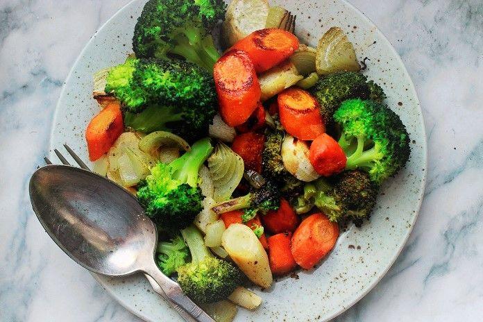 glazovaná zelenina