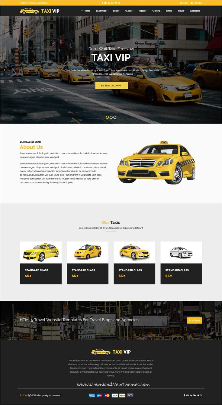 Travelz Is Clean And Modern Design Responsive Bootstrap Html5