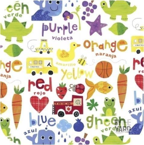 Colour & Count - Colour Chart