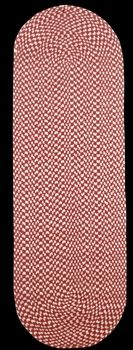Item #667764 : Carpet Runners Burgundy Nylon Rug Carpet Runner 2' W x 6' L