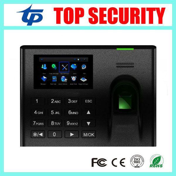 UA100 ZK biométrique d'empreintes digitales temps de présence système linux TCP/IP employé basé sur le web de temps d'enregistrement du temps horloge système