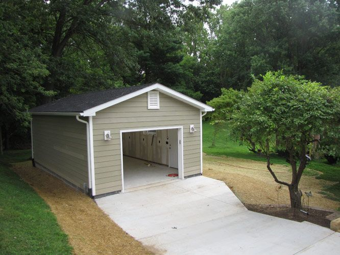 good cost of detached garage #5: 18 Free DIY Garage Plans with Detailed Drawings and Instructions