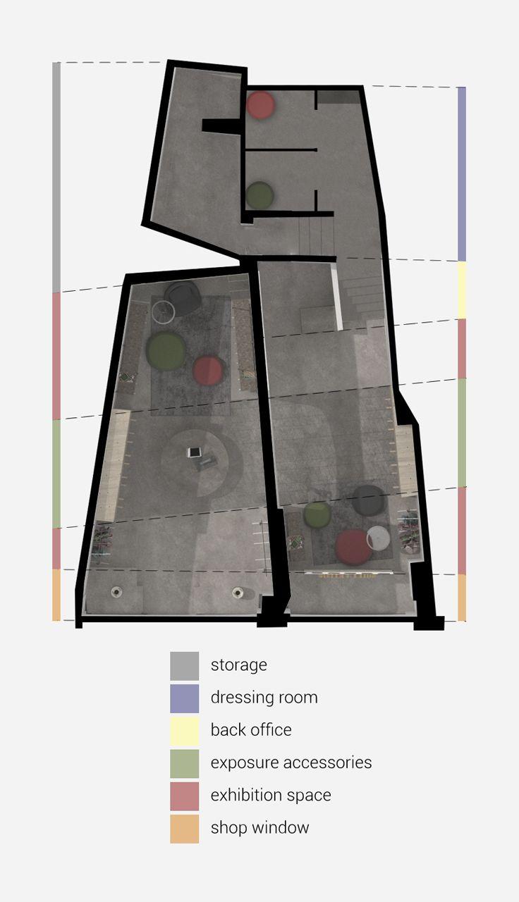 Interior design, store layout, app design