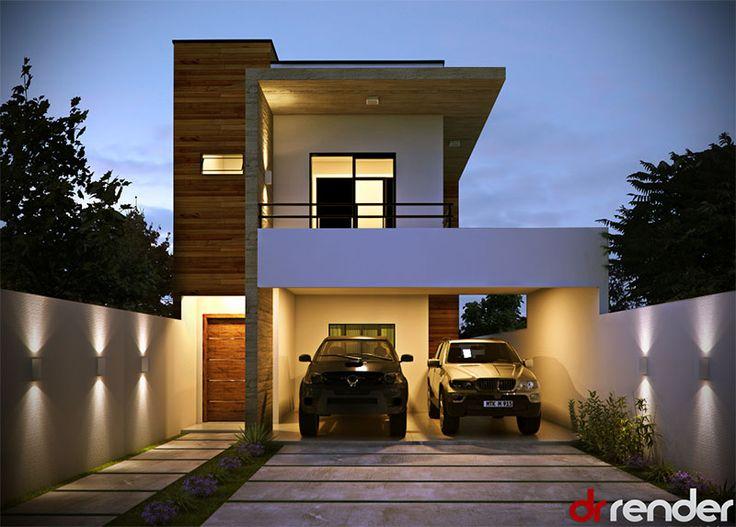 Arandelas lumin rias de parede banheiro sala e quarto - Muro exterior casa ...