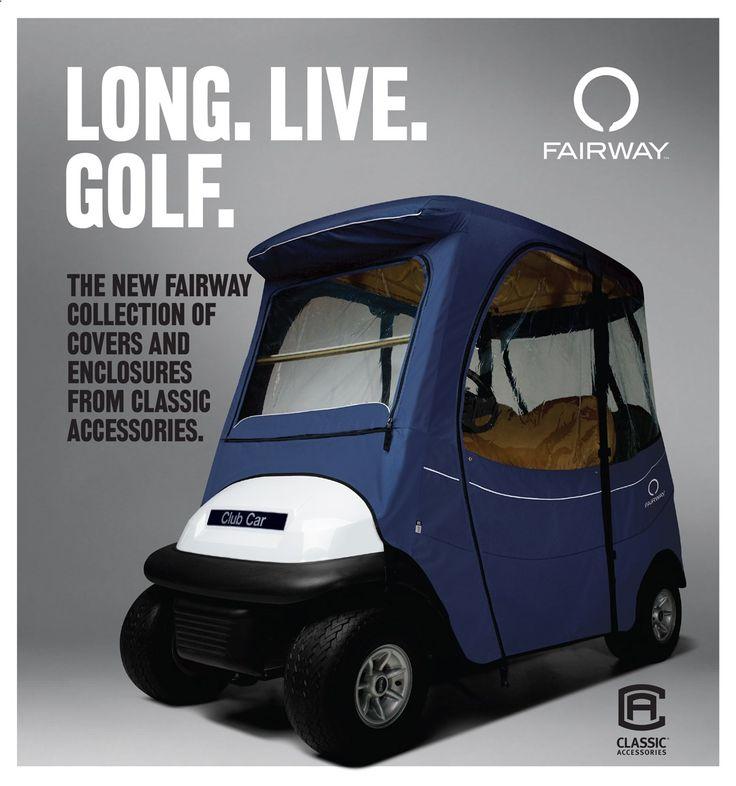 Golf Carts - NEW Fairway golf cart covers, golf cart enclosures, custom fit, universal, golf cart seat blankets, golf cart seat covers