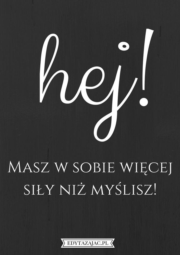 6 plakatów motywacyjnych, które wylądowały w moim telefonie - Psychologia w życiu - Edyta Zając