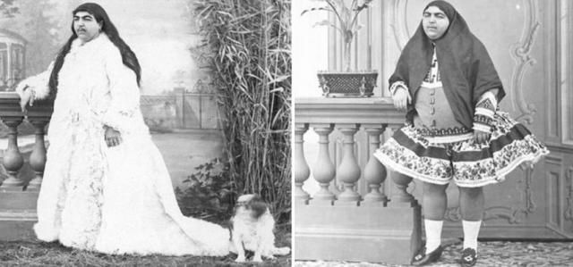 La vera storia della principessa Qajar. La leggenda narra che la amarono più di cento uomini