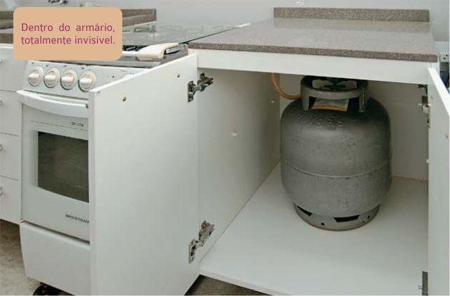 Resultado de imagem para gabinete para botijao gas