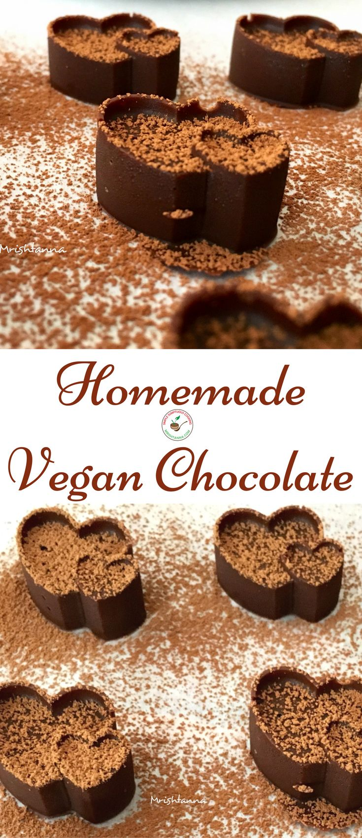 Welcome to Simple Sumptuous Cooking, a vegan cooking blog! Here's a quick recipe for Homemade Vegan Chocolate.