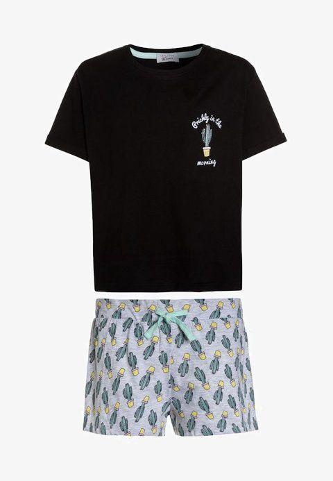 Kinderkleding Zalando.Cactus Short Pyjama Black Zalando Nl In 2019