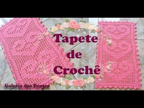 TAPETE DE CROCHÊ FÁCIL , Crochet mat , かぎ針編みマット